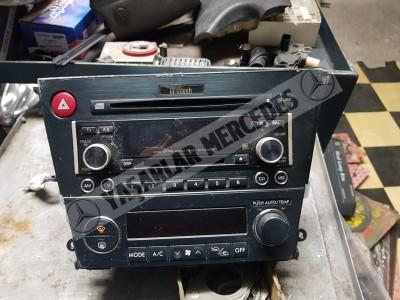 Subaru Dijital Klima Paneli Cd Radyo