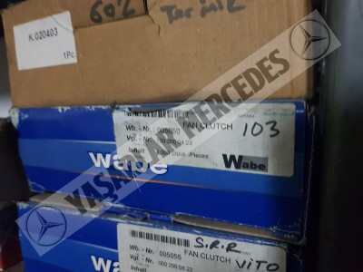Mercedes W201 W124 W126 M103 Motor Termik