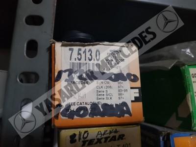 Mercedes W140 Arka Balata