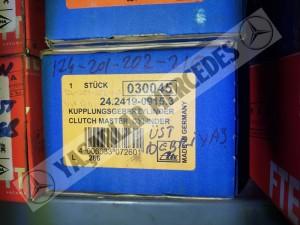 Mercedes W124 W201 W202 W210 Debriyaj Üst Merkezi Ate 24.2419-0915.3
