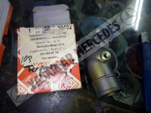 103 Motor Termostat Kapağı Febi