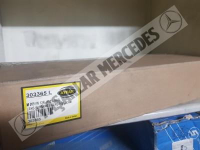 Mercedes W124 Sol Far Camı