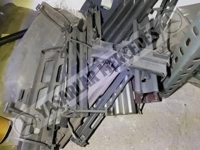 Mercedes W201 W124 Tampon Çeki Demir Kapağı