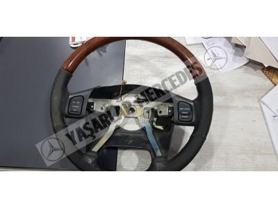 Chrysler Ahşap Düğmeli Direksiyon