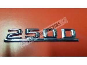 Mercedes 250D Yazı