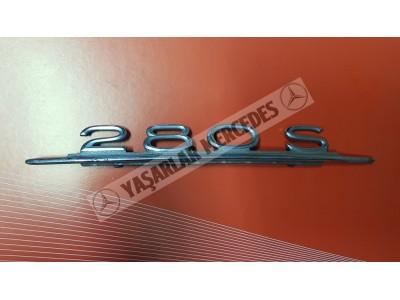 Mercedes 280S Yazı Orijinal