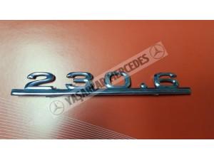 Mercedes 230.6 Yazı