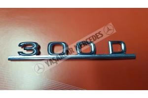 Mercedes 300D Yazı Orijinal
