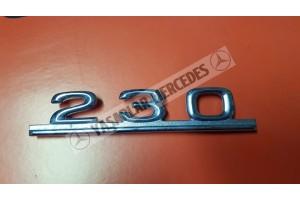Mercedes 230 Yazı Orijinal